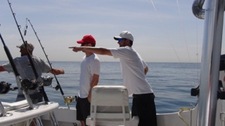 Pointing the way to the big catch!