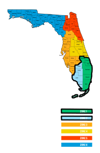 Our service locations in southern florida